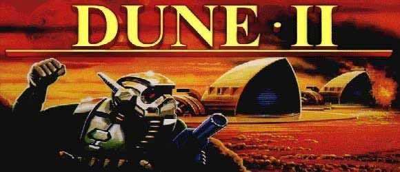 Dune II: The Building of a Dynasty pro DOS.
