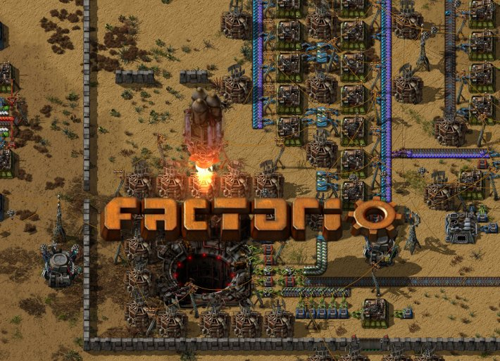 Factorio pro Windows.
