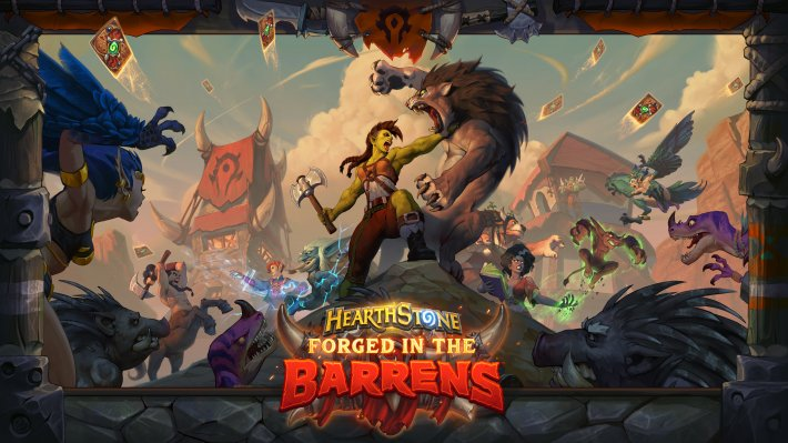 Hearthstone: Forged in the Barrens pro Windows.