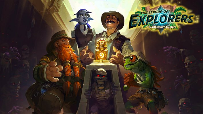 Hearthstone: League of Explorers pro Windows.