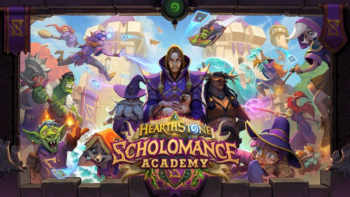 Hearthstone: Scholomance Academy pro Windows.