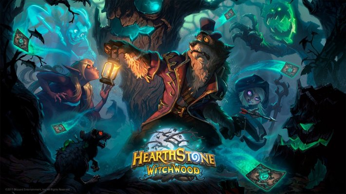Hearthstone: The Witchwood pro Windows.