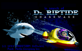 In Search of Dr. Riptide pro DOS.