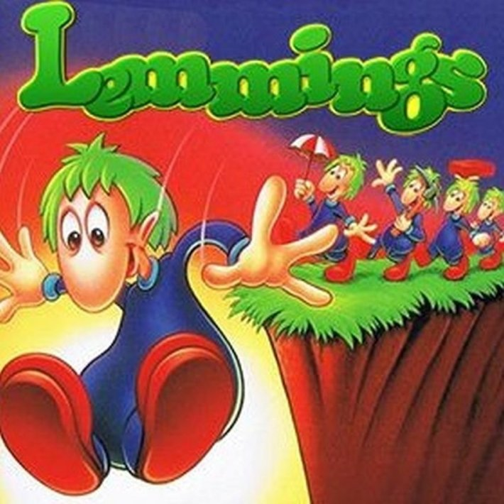 Lemmings pro DOS.