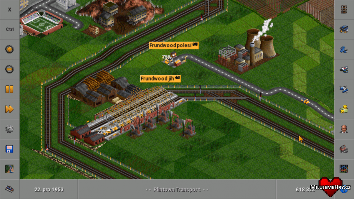 OpenTTD pro Android.