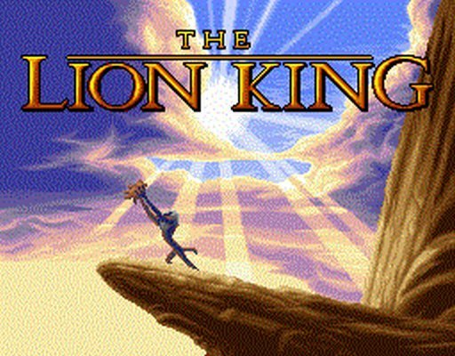 The Lion King pro DOS.